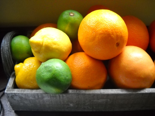 Loving citrus these days!