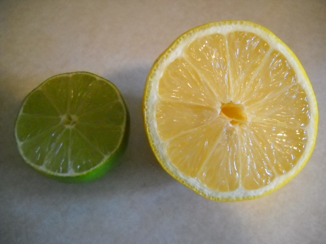 Ever look at the intricacies of a lemon or lime?