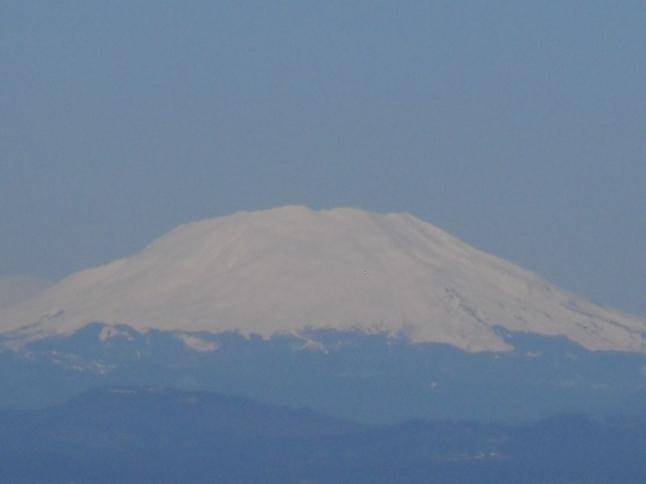 Mt. Saint Helen's on Easter weekend