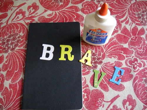Getting ready to make my brave book!